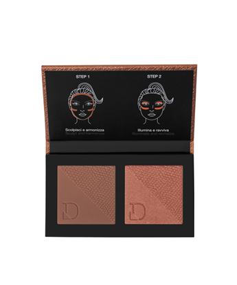 Picture of DUO BRONZER &BLUSHLIGHT MEDIUM TO DARK 326