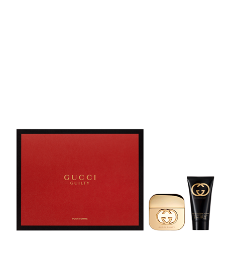 Picture of GUCCI GUILTY POUR FEMME EDT30ML + BODY LOTION 50ML