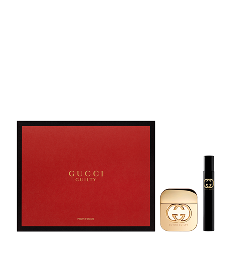 Picture of GUCCI GUILTY EDT50ML + ROLLER BALL 7.4ML