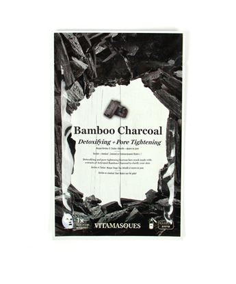 Picture of Bamboo Charcoal Sheet Face Mask