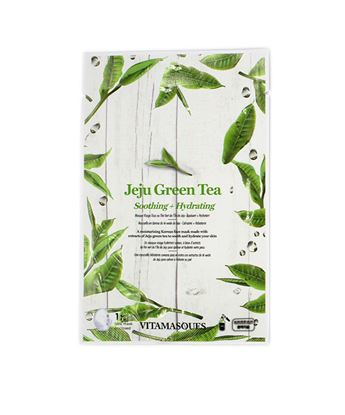 Picture of Jeju Green Tea Sheet Face Mask