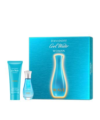 Picture of COOL WATER WAVE WOMAN SET (EDT30ML+ BODY LOTION 75ML)