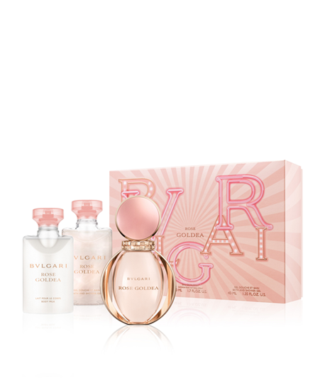 Picture of ROSE GOLDEA SET (EDP 50ML +SHOWER GEL+BODY LOTION)