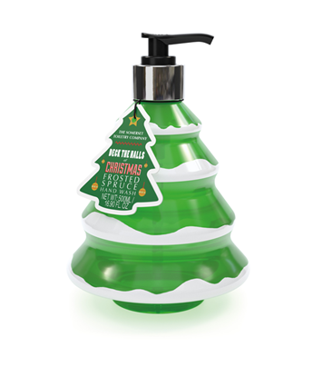 Picture of Christmas Tree Frosted Spruce Festive Handwash 500ml
