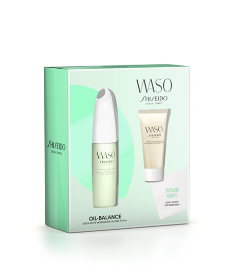 Picture of WASO Quick Matte Moisturizer Oil-Free Gift Set