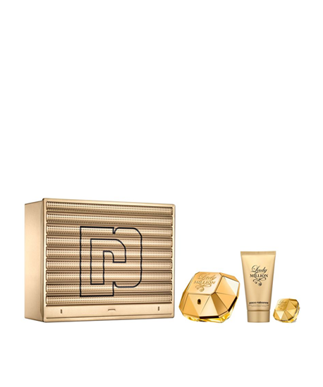 Picture of LADY MILLION SET (EDP 50ML+BODY LOTION 75ML+ MINIATURE 5ML)