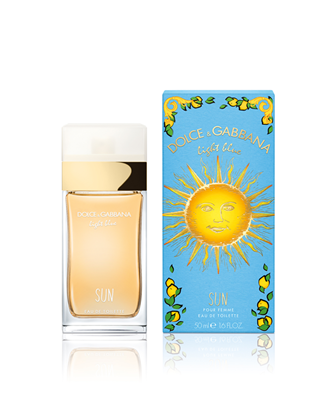 Picture of LIGHT BLUE SUN WOMAN EDT 50ML