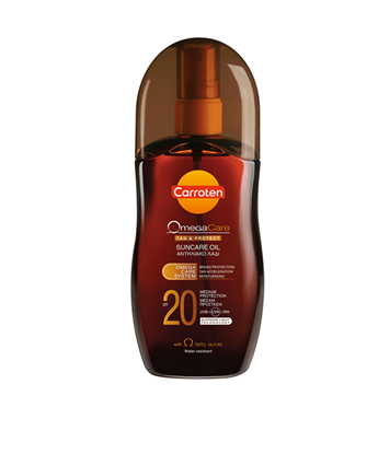 Picture of OMEGA CARE TAN & PROTECT OIL SPF20 125ML