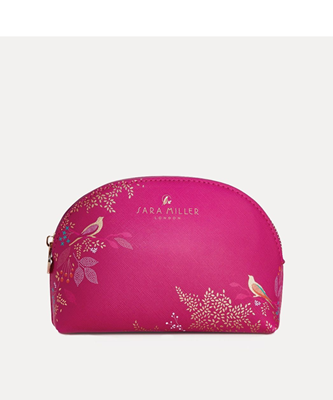 Picture of PINK BIRD SMALL COSMETIC BAG