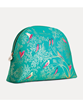Picture of GREEN BIRDS LARGE COSMETIC BAG