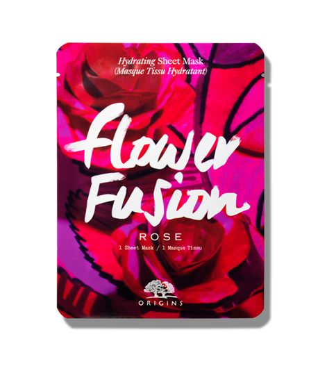 Picture of FLOWER FUSION ROSE HYDRATING SHEET MASK