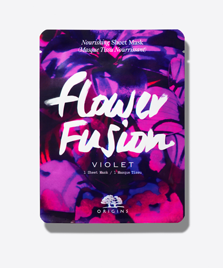 Picture of FLOWER FUSION VIOLET NURISHING SHEET MASK