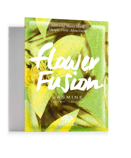 Picture of FLOWER FUSION JASMINE SOFTENING SHEET MASK