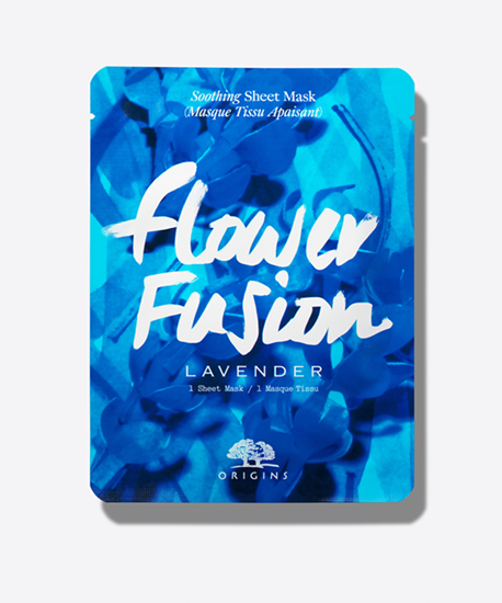Picture of FLOWER FUSION LAVENDER SOOTHING SHEET MASK