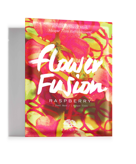 Picture of FLOWER FUSION RASPBERRY REFRESHING SHEET MASK