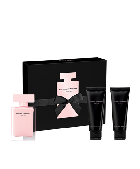 Picture of FOR HER SET (EDP 50ML+BODY LOTION 75ML+ SHOWER GEL 75ML)
