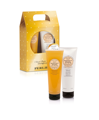 Picture of HONEY GIFT SET- SHOWER GEL & BODY CREAM