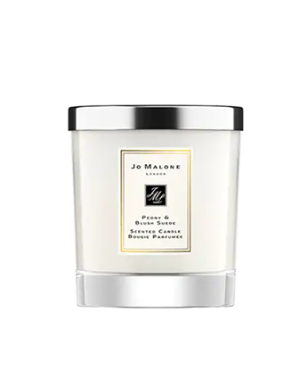 Picture of PEONY & BLUSH SUEDE CANDLE