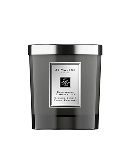 Picture of DARK AMBER & GINGER LILY HOME CANDLE INTENSE 200gr