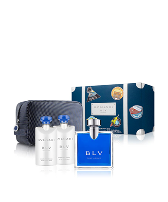 Picture of BLV POUR HOMME SET (EDT 100ML + BSG 75ML + ASB 75ML + POUCH)