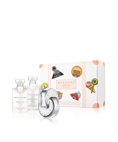 Picture of OMNIA CRYSTALINE SET (EDT 40ML+ BL 40ML + BSG 40ML)