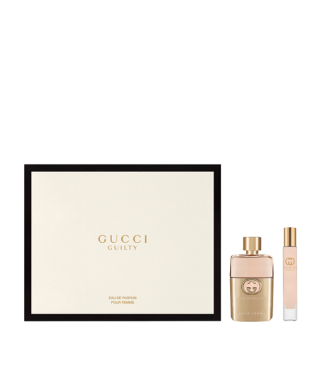 Picture of GUCCI GUILTY POUR FEMME SET (EDP 50ML & ROLLER BALL 7.4ML)
