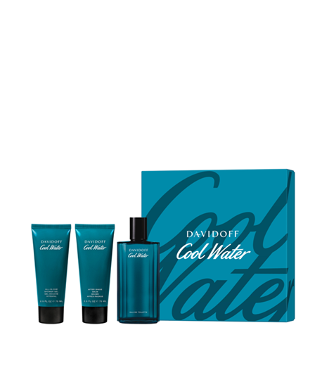 Picture of COOL WATER MEN SET (EDT 125ML & SG 75ML & ASB 75ML)