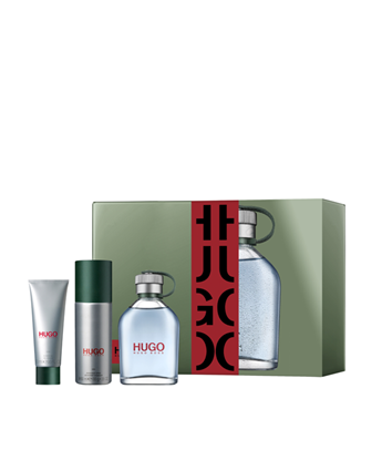 Picture of HUGO MAN SET (EDT 125ML & DEO SPRAY 150ML & SG 50ML)
