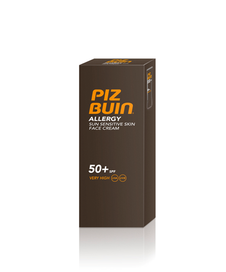 Picture of PIZ BUIN ALLERGY FACE CREAM SPF50 50ML