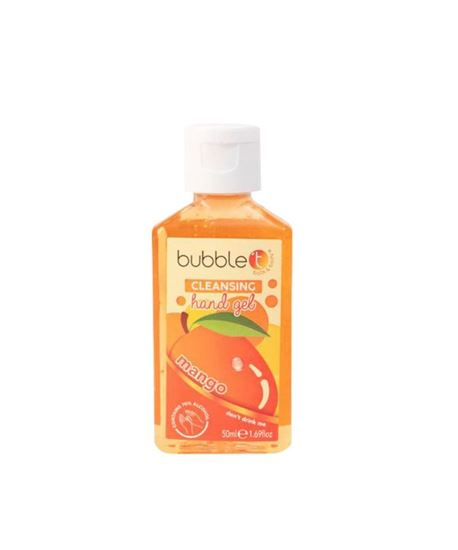 Picture of Bubble T Hand Cleansing Gel Mango 50ml