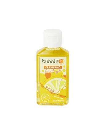 Picture of Bubble T Hand Cleansing Gel Lemongrass & Green Tea 50ml