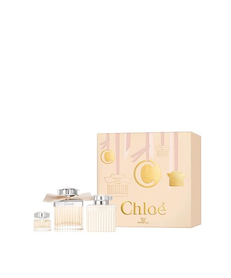 Picture of CHLOE SIGNATURE EDP75 + BODY LOTION 100 + MINI 5ML
