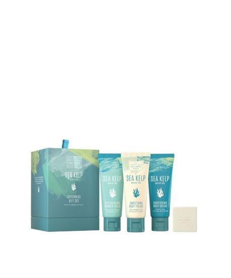 Picture of THE SCOTTISH FINE SOAPS MARINE SPA LUXURY GIFT SET 3X75ML