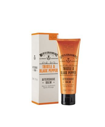 Picture of THE SCOTTISH FINE SOAPS THISTLE & BLACK PEPPER AFTERSHAVE BALM 75ML