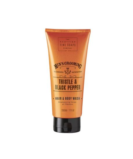 Picture of THE SCOTTISH FINE SOAPS THISTLE & BLACK PEPPER HAIR & BODY WASH 200ML