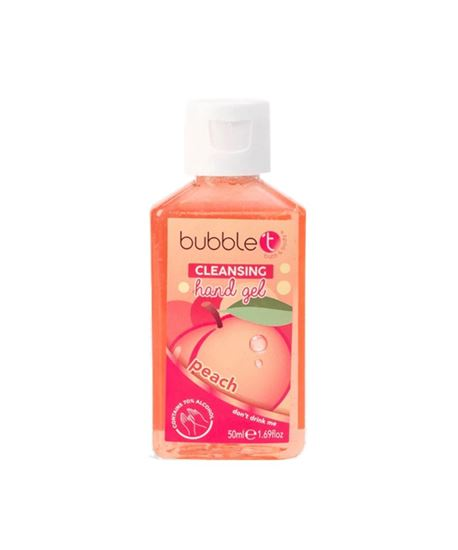 Picture of Anti-bacterial cleansing hand gel Peach 50ml