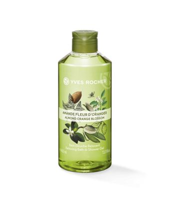 Picture of Almond Orange Blossom Relaxing Bath and Shower Gel 400ml