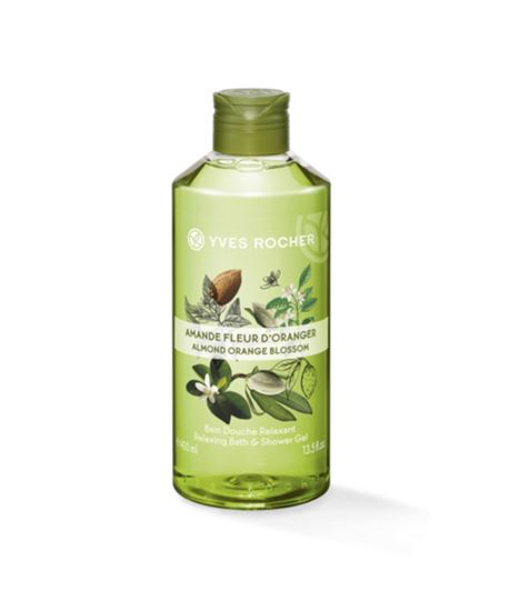 Picture of Relaxing Bath and Shower Gel - Almond Orange Blossom 400 ml