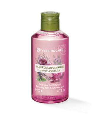 Picture of Relaxing Bath and Shower Gel - Lotus Flower Sage 200 ml