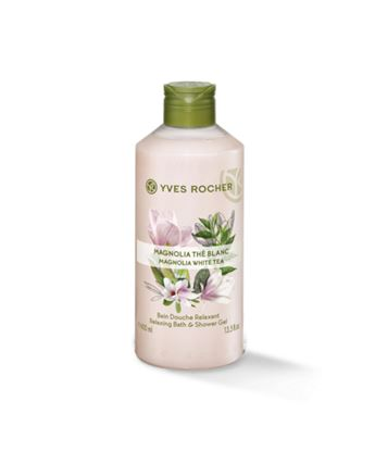 Picture of Relaxing Bath and Shower Gel - Magnolia White Tea Relaxing 400 ml