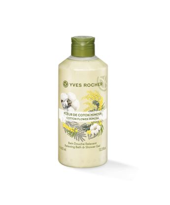 Picture of Relaxing Bath and Shower Gel - Cotton Flower Mimosa 400 ml