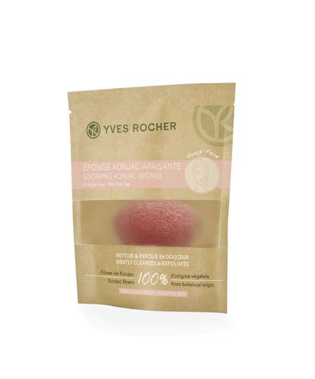 Picture of Soothing Konjac Sponge with Pink Clay