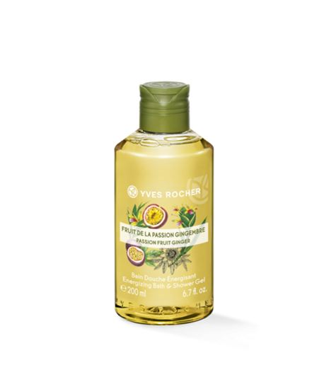 Picture of Energizing Bath and Shower Gel - Passion Fruit Ginger 200 ml