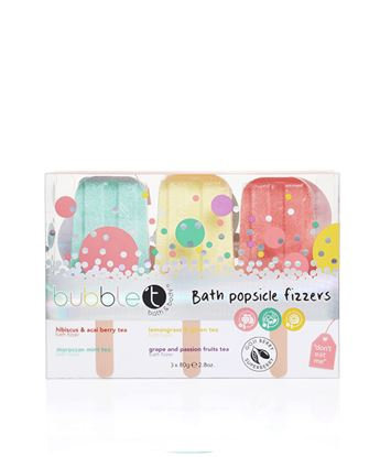 Picture of Bubble T Bath fizzer lollipops ( 3 x 80g)