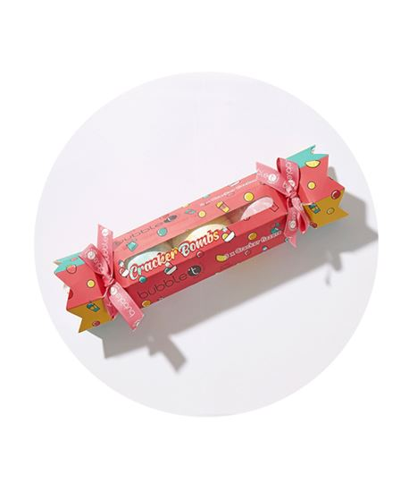 Picture of CHRISTMAS CRACKER BATH BOMB GIFT SET