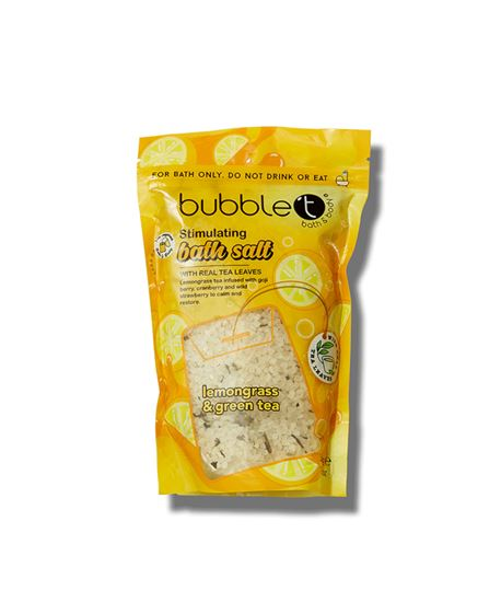 Picture of BUBBLET BATH SALTS IN LEMONGRASS & GREEN TEA