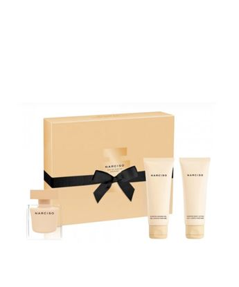Picture of NARCISO POUDREE SET (EDP50ML+BODY LOTION 50ML+SHOWER GEL 50ML)