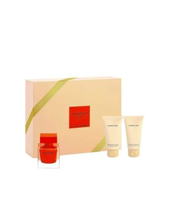 Picture of NARCISO ROUGE SET (EDP50ML+BODY LOTION 50ML+SHOWER GEL 50ML)