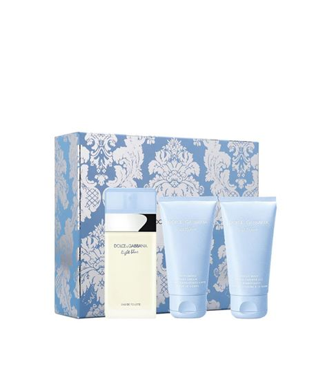 Picture of LIGHT BLUE SET (EDT50ML + BODY CREAM 50ML + SHOWER GEL 50ML)