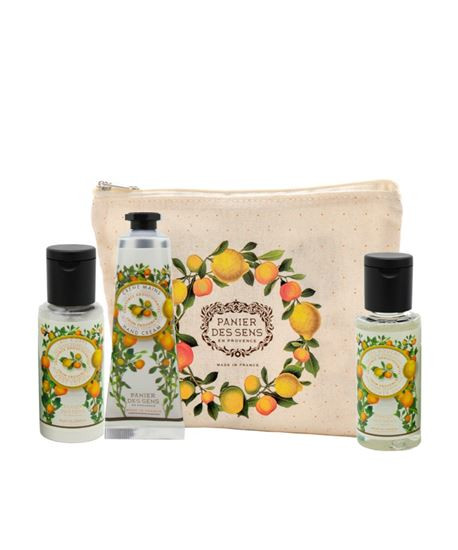 Picture of Provence Travel Pouch - Shower Gel 50ml + Body Lotion 50ml + Hand Cream 30ml